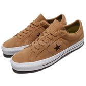 Converse 休閒鞋 One Star Pro 咖啡色 一顆星 麂皮 男鞋 滑板鞋 【PUMP306】 157900C