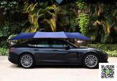 汽車遮陽傘全自動防曬隔熱車頂棚行動車篷智慧遙控防雨折疊車衣罩 DF 一件免運