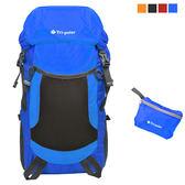 PUSH! 戶外登山旅遊用品 超大容量35L可折疊 登山包 背包 騎行包 旅行包 萬用旅行袋U31