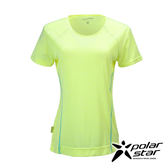 PolarStar 女 排汗快乾圓領T恤『黃』P17134 吸濕排汗瑜珈休閒服短袖透氣運動服慢跑路跑馬拉松