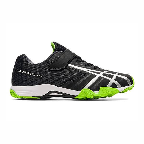 Asics Lazerbeam Spike [1154A114-004] 大童鞋 運動 休閒 慢跑 耐磨 透氣 包覆 黑