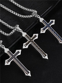 耶穌十字架項鍊網紅霸氣百搭
