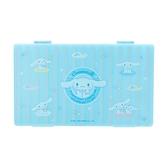 小禮堂 大耳狗 攜帶型塑膠口罩盒 抗菌口罩盒 口罩夾 口罩套 (藍 防疫對策) 4550337-49754