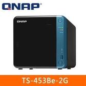 【綠蔭-免運】QNAP TS-453Be-2G 網路儲存伺服器