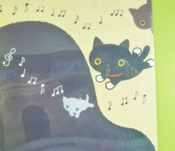 【震撼精品百貨】 靴下にゃんこ_靴下貓~資料夾-雙開式-咖啡黑色【共1款】