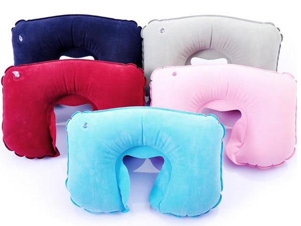 旅行必備 飛機枕 U型枕 護頸枕 充氣枕   【櫻桃飾品】【22455】