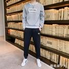 男士運動套裝搭配休閒套裝帥氣韓版一套秋季潮流運動男青少年時尚男裝 PA11138『棉花糖伊人』