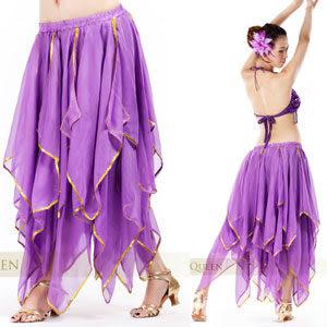 浪漫甜美16葉肚皮舞裙肚皮舞蹈服飾配件.中東肚皮舞.推薦哪裡買專賣店特賣會便宜