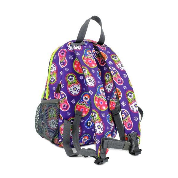 【英國 Hugger】時尚幼童背包 - 俄羅斯娃娃
