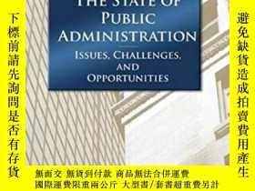 二手書博民逛書店The罕見State Of Public Administration-公共管理狀況Y436638 Donal