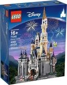 LEGO 樂高 迪士尼城堡71040