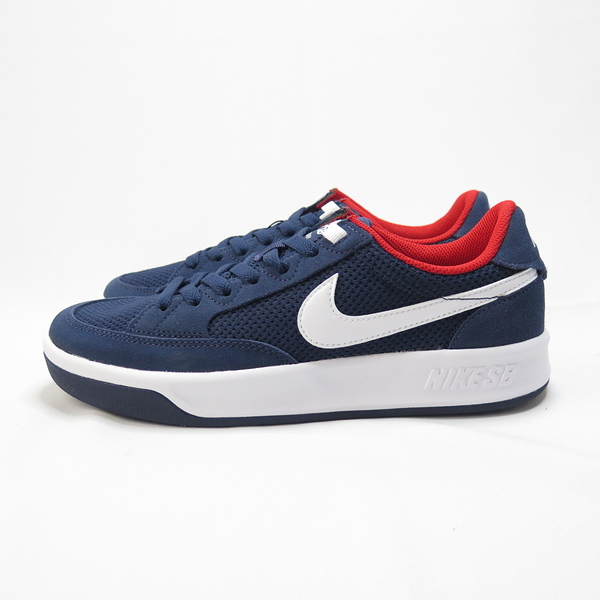 NIKE SB ADVERSARY 滑板鞋 CJ0887400 男款 麂皮拼接 藍紅【iSport愛運動】