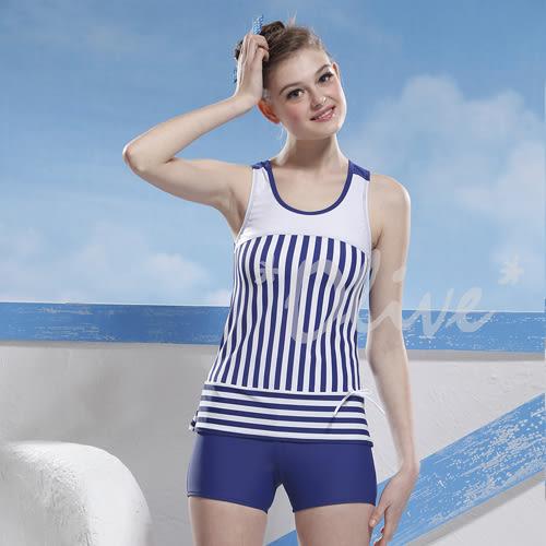 ☆小薇的店☆泳之美品牌【經典條紋款】時尚二件式泳裝特價1090元 NO.2280(M-XL)