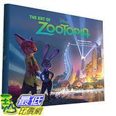 [105美國直購] 美國暢銷書 動物方城市 The Art of Zootopia