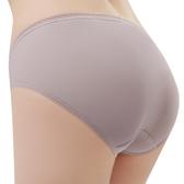 思薇爾-Tour-Dry系列M-XXL素面中腰三角內褲(沉香膚)