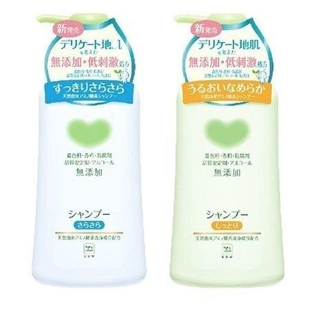 日本製【Cow牛乳石鹼】弱酸性 無添加洗髮精500ml