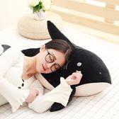 618好康鉅惠超軟鯊魚公仔搞怪懶人睡覺抱枕