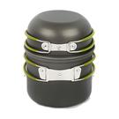 [DASIDENG] 二人硬質氧化鋁套鍋 四件組 (附袋) (20A501)