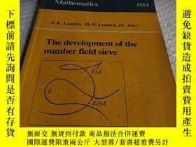 二手書博民逛書店Lecture罕見notes in mathematics 15
