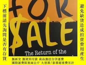 二手書博民逛書店大32開英文原版罕見Not for Sale : The Ret