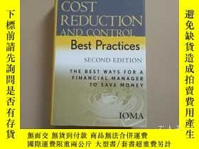 二手書博民逛書店COST罕見REDUCTION AND CONTROL Best