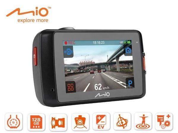 MIO MiVue 638 觸控寬螢幕GPS測速行車記錄器 送32G+後視鏡支架