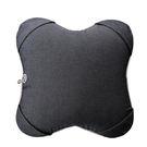 Lourdes日式溫熱揉捏V型按摩抱枕(海藍款)288nb