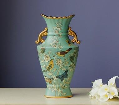 【協貿國際】遇見雙耳裝飾花瓶擺件