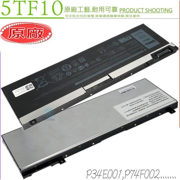 DELL 5TF10 電池(原廠)-戴爾 P34E001 P74F002,Precision 15 7530,7540,M7530,M7540,Precision 17 7730,7740