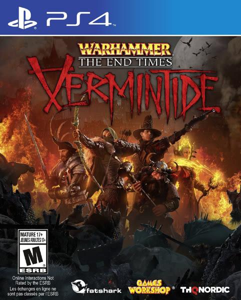 PS4 Warhammer: End Times - Vermintide 戰鎚:終結時刻- Vermintide(美版代購)
