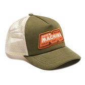 Deus Ex Machina MACHINA TRUCKER 棒球帽-綠(男/女)