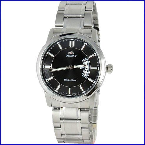 【萬年鐘錶】ORIENT東方石英錶 黑面 FUND8001B