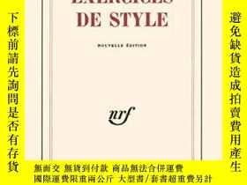 二手書博民逛書店Exercise罕見De StyleY364682 Raymond Queneau Gallimard 出版