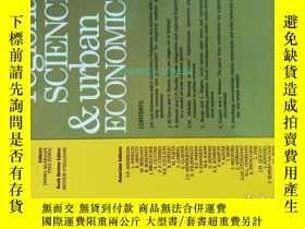 二手書博民逛書店Regional罕見Science and Urban Economics (Journal) 01 2011 學