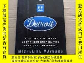 二手書博民逛書店THE罕見END OF DETROITY12597 Michel