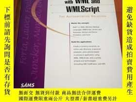 二手書博民逛書店WAP罕見Development with WML and WM