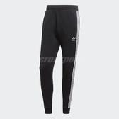 adidas 長褲 3 Stripes Pant 男款 三條線 黑 白 縮口褲 經典三葉草 【PUMP306】 EC4710