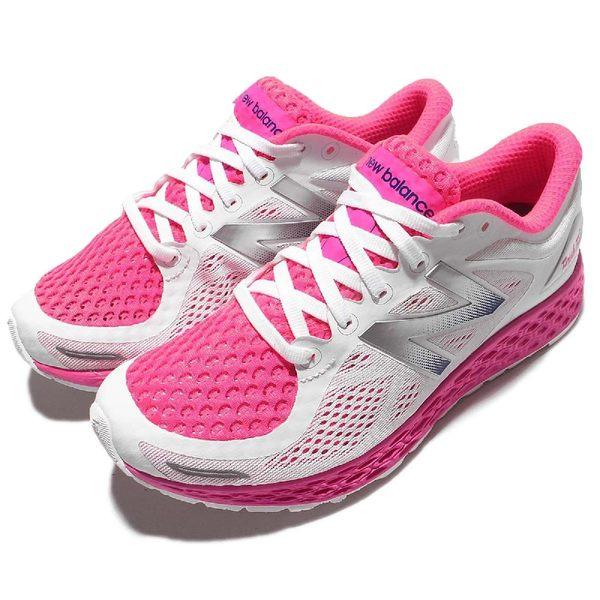 New Balance 慢跑鞋 Zante v2 Breathe 白 粉紅 運動鞋 避震跑鞋 女鞋【PUMP306】 WZANTHP2D
