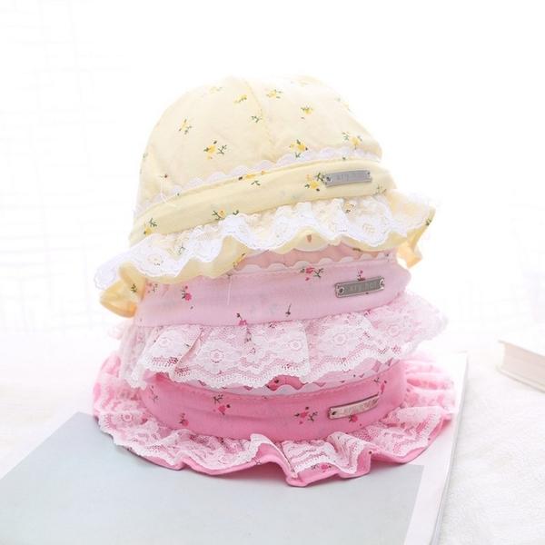 漁夫帽 遮陽帽 女寶寶帽 童帽 防曬 必備 嬰兒帽 DL1502 好娃娃