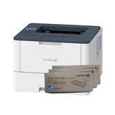 FujiXerox DocuPrint P375dw 黑白網路雷射印表機 搭三支CT203108原廠碳粉匣