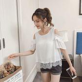 2018新款夏季女裝時尚蕾絲衫寬鬆大碼百搭 SG5580【極致男人】