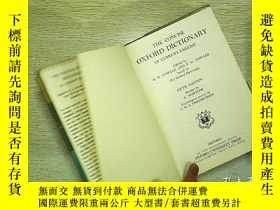 二手書博民逛書店The罕見Concise Oxford Dictionary(編