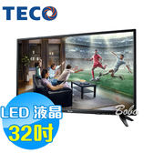 TECO東元 32吋 TL32K1TRE LED液晶顯示器 液晶電視(含視訊盒)
