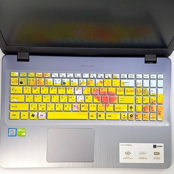 豐盈資訊 繁體中文 ASUS 鍵盤 保護膜 X550JX X550V X550VC X550VX X550LN