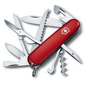 VICTORINOX 瑞士維氏狩獵者15用瑞士刀-紅