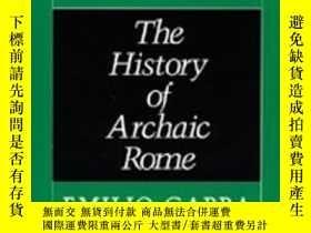 二手書博民逛書店【罕見】Dionysius And The History Of Archaic RomeY27248 Emi