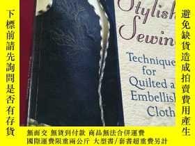 二手書博民逛書店2000年-stylish罕見sewing patricia n