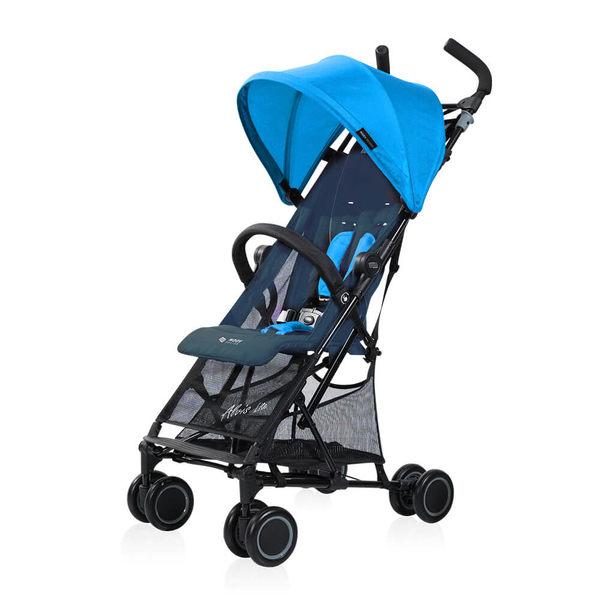 Moov Design - Alvis 隨行背包車/秒收手推車 皇室藍