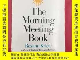 二手書博民逛書店The罕見Morning Meeting Book 晨會記錄本Y