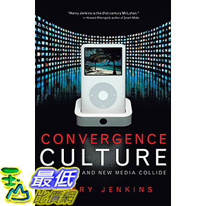 [106美國直購] 2017美國暢銷軟體 Convergence Culture: Where Old and New Media Collide